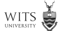 University of the Witwatersrand, Johannesburg logo