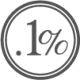 Point One Percent logo