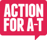 Action for A-T logo