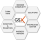 The Global Sustainability Exchange (GSX) logo