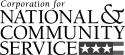 Corporation for National & Community Service logo