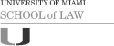 University of Miami School of Law logo