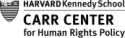 Carr Center for Human Rights Policy, Harvard Kennedy School logo