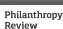 The Philanthropy Review logo