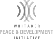 Whitaker Peace & Development Initiative logo