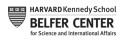 Belfer Center for Science and International Affairs at Harvard logo