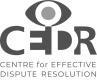 Centre for Effective Dispute Resolution  (CEDR) logo