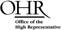 Office of the High Representative logo