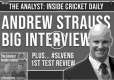 The Analyst: Inside Cricket Daily logo
