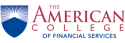 The American College of Financial Services logo